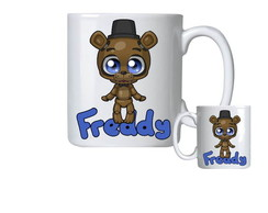 Caneca de Porcelana fnaf five nights at freddy's toy freddy