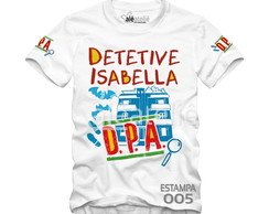 Camiseta DPA Detetives do Prédio Azul Personalizada