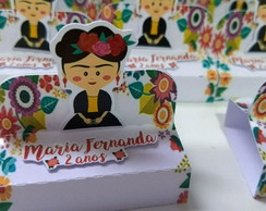 Porta chocolate duplo Frida Kahlo