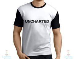 Camisa, Camiseta Uncharted Logo