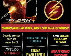 PLACA DECORATIVA EM MDF FLASH