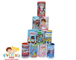 Cofrinho PVC Minions, Carros, Frozen, Peppa Pig, Mickey ETC