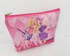 Bolsinha necessaire Barbie Pop star