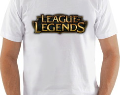Camiseta League of Legends - Logomarca
