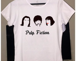 Camisetas Pulp Fiction Minimalista