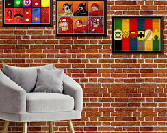 Quadros decorativos Marvel