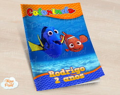 Revista colorir Nemo Dory
