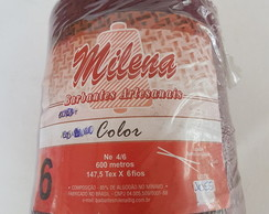 Barbante 6 Milena Color Vinho