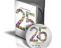 DVD 25 anos Hanna Barbera (2 dvds)