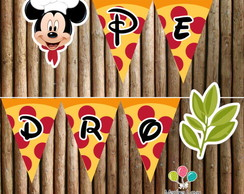 Bandeirola - Pizzaria do Mickey