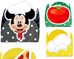 Forminha 3D - Pizzaria do Mickey