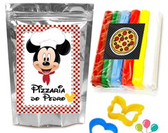 Kit Massinha de Modelar - Pizzaria do Mickey