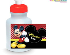 Rótulo para Squeeze 300 ml- Mickey Mouse
