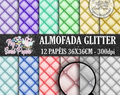 Kit Papel Digital Almofada Glitter