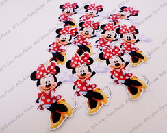 Aplique com 4 cm - Minnie Mouse - Mickey Mouse