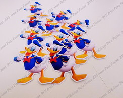 Aplique com 4 cm -Pato Donald - Mickey Mouse