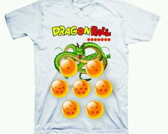 Camiseta estampada Dragon ball
