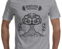 Camiseta Casual Sport Hardcore Training