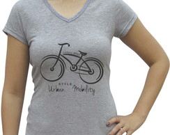 Camiseta baby look Casual Sport Urban Mobility