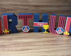 Letras 3d Decoradas PSG