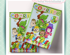 Revistas/Kits de colorir