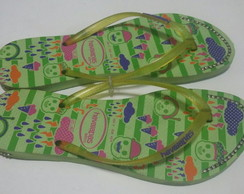 Havaiana decorada nr 41/42