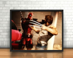 Quadro Logan & Deadpool