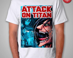 Camiseta Shingeki No Kyojin - Attack On Titan