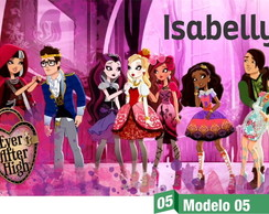 Ever After High Painel Lona Festa Banner Aniversario Lindo