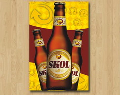 Quadro Decorativo Skol - PS154