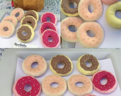 Rosquinhas candy color, danuts
