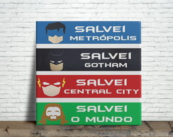 Azulejo Decorativo Super Herois