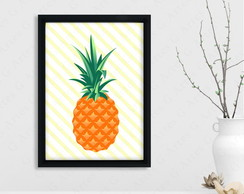 Quadro Abacaxi cód: 420s3 pineapple
