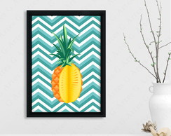 Quadro Abacaxi cód: 420s4 pineapple