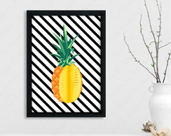 Quadro Abacaxi cód: 420s5-1 pineapple