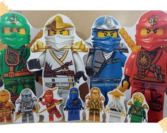 Display festa infantil Ninjago