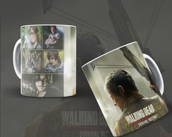 Caneca Deryl Dixon The Walking Dead mod. 02+ Brinde