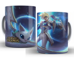 Caneca LOL League of Legends- Ezreal Guardião Estelar