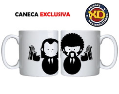 Caneca Porcelana Humor Cult Pulp Fiction