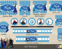 Kit Festa Digital - Frozen