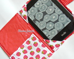 Case E Reader/Tablet Moranguinho com bolso