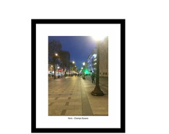 Quadro Paris Avenida Champs Elysees