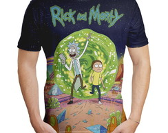 Camiseta Masculina Rick and Morty MD02