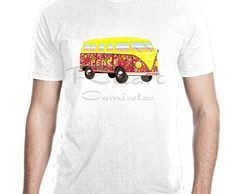 Camiseta Carros Kombi Surf Hippie