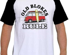 Camiseta Raglan Kombi Old Blokes Rule