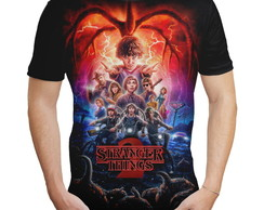 Camiseta Masculina série Stranger Things MD03