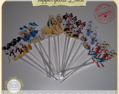 TOPPER FESTA INFANTIL - TURMA DO MICKEY