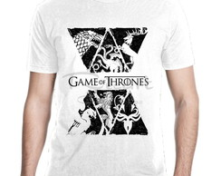 Camiseta Game Of Thrones Casas Mod 36