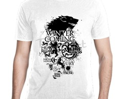 Camiseta Game Of Thrones Casas Mod 41
