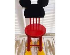 Mini Cadeira Decorativa Mickey ou Minie